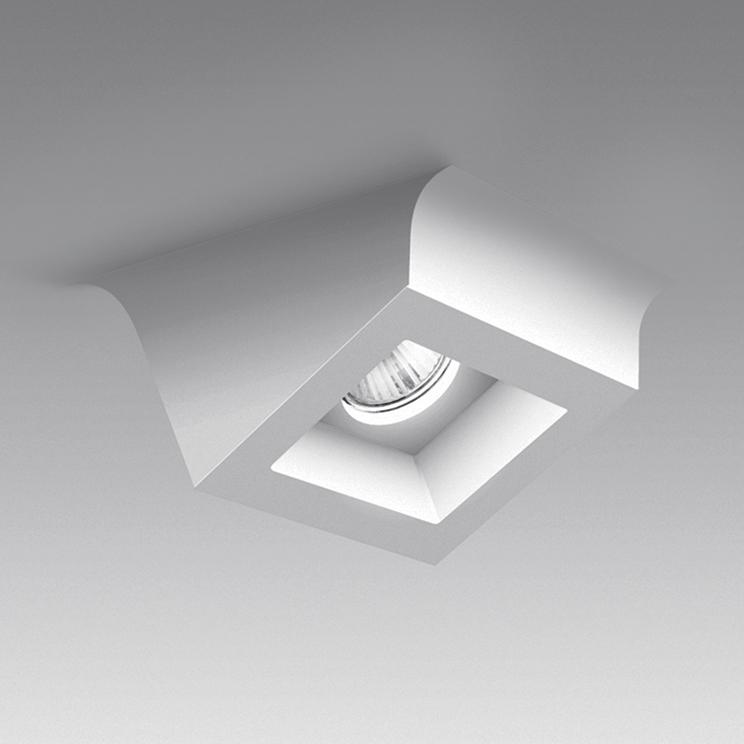 Alcyone гипсовый потолочный светильник